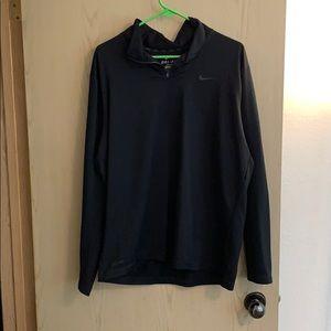 Womens Dri Fit 3/4 zip Sweater